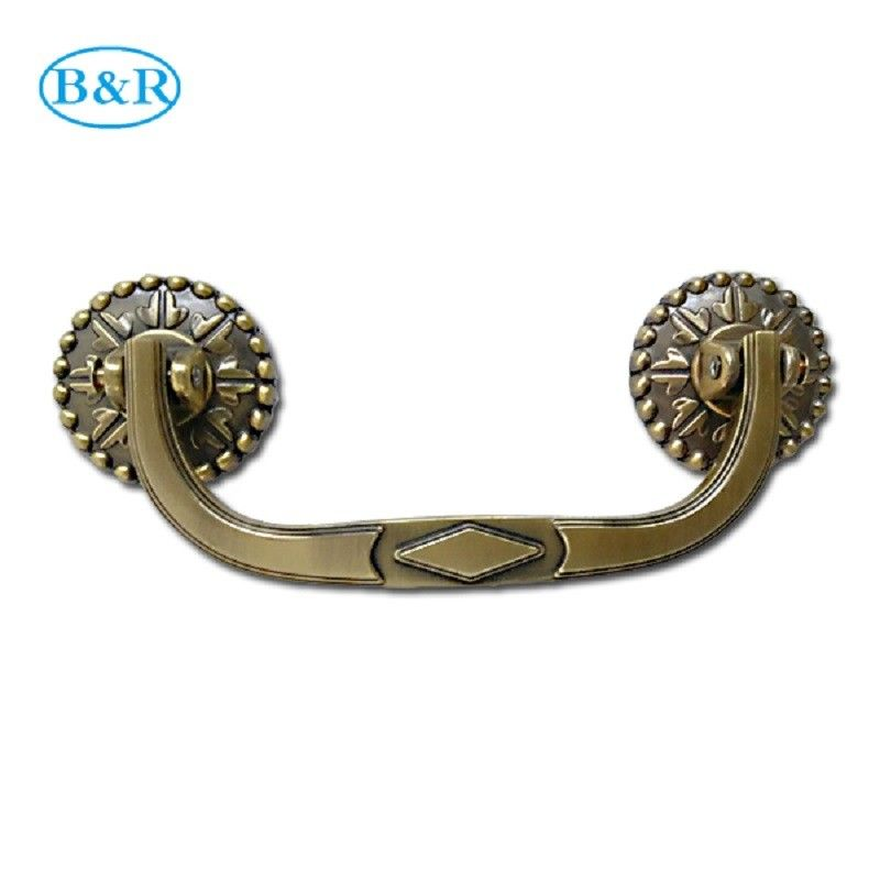 H031 Luxury Metal Coffin Handles For Coffin Casket Accessories 19×7.5 Cm